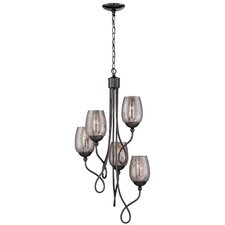 Emma 5-Light Shaded Chandelier