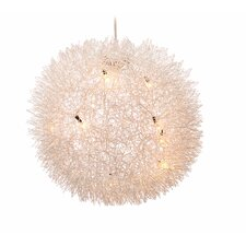 8-Light Globe Pendant