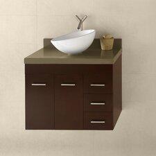 Bella 31 Single Wall Mount Bathroom Vanity Set by Ronbow