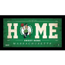 Home Sweet Home Framed Textual Art
