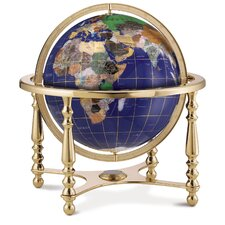 Compass Jewel Gemstone Globe