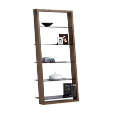 """Eileen 74"""" Leaning Bookcase"""