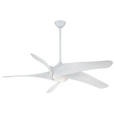 "62"" Artemie XL5 5 Blade Ceiling Fan"
