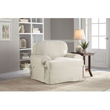 Cotton Duck T-Chair Slipcover