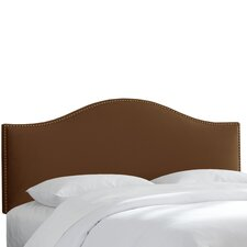 Cyd Nail Button Upholstered Panel Headboard