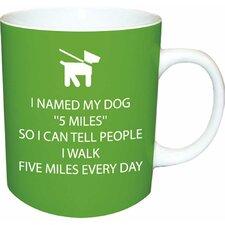 Funny Walk 5 Miles Mug
