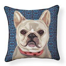 Pooch Décor French Bulldog Indoor/Outdoor Throw Pillow