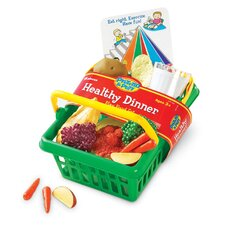 Pretend and Play Healthy Dinner Basket