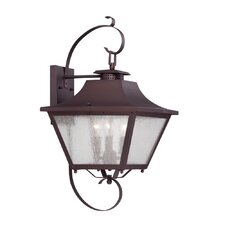 Lafayette 3-Light Outdoor Wall Lantern