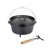 Cast Iron Fire Cooking Pot