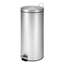 Stainless Steel 7.9 Gallon Step On Trash Can
