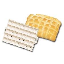 Dough Bread Stamp in Square