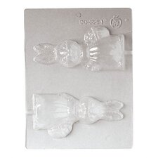 """3"""" Small Bunny Chocolate Mold"""
