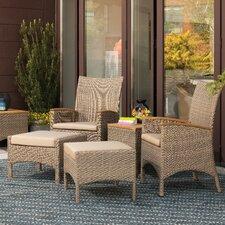 patio bar furniture pit table regal natural