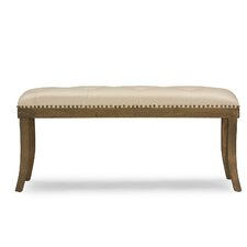 Baxton Studio Damien Faux Leather Entryway Bench by Wholesale Interiors