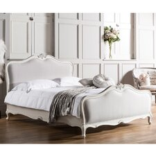 Parisian House Chic King Upholstered Bed Frame