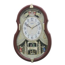 Viola Entertainer Wall Clock