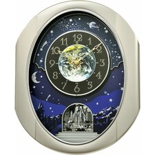 Peaceful Cosmos Wall Clock