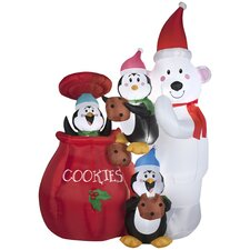 Airblown Inflatables Christmas Animated Cookie