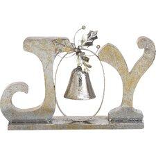 "Christmas Elegance ""Joy"" Wall Décor"