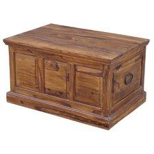 Kerala Sheesham Wooden Panel Large Blanket Box