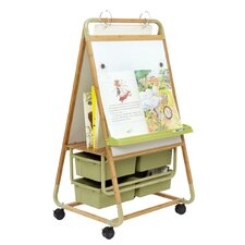 Bamboo Magnetic Board Easel
