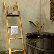 18W X 64H Decorative Ladder Wall Shelf by Strata Furniture