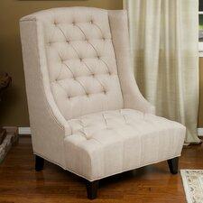 De Luca Wingback Arm Chair by House of Hampton