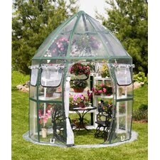 Conservatory 8.6 Ft. W x 8.6 Ft. D Greenhouse