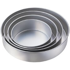 4 Piece Round Pan Set
