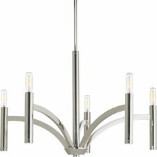 Draper 5-Light Candle-Style Chandelier