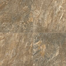 "Alterna Reserve 16"" x 16"" Engineered Stone Field Tile in Brown/Gray"