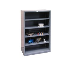 Closed 72 Four Shelf Shelving Unit by Strong Hold Products