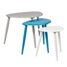 Ayres 3 Piece Nesting Table Set
