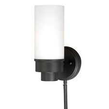 Tube Indoor Wall 1-Light Armed Sconce