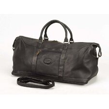 """All American 20"""" Leather Carry-On Duffel"""