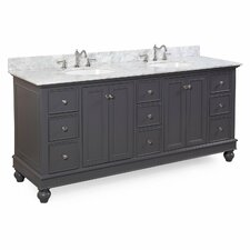 Bella 72 Double Vanity Set by Kitchen Bath Collection