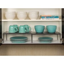Perforated Expandable Kitchen Cabinet Helper Shelf