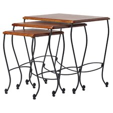 Baxter 3 Piece Nesting Tables by Alcott Hill