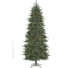 10' Green Slim Carolina Frasier Artificial Christmas Tree