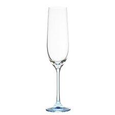 6 Piece Rainbow 0.19L Champagne Flute Set