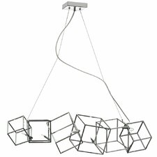 Cubo 6-Light Candle-Style Chandelier