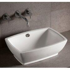 Isabella Single Bowl Rectangular Vessel Bathroom Sink