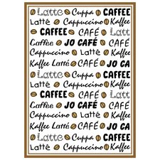 Geschirrtuch Kaffee Latté