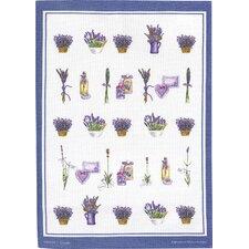 Geschirrtuch Lavendelkörbe