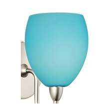 """Contemporary 4.5"""" Glass Bowl Wall Sconce Shade"""