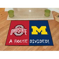 NCAA House Divided: Ohio State / Michigan House Divided Mat
