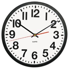 "Large Numeral Analog 13"" Wall Clock"