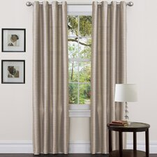 Taupe Grommet Curtain Panel