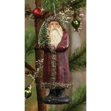 Sophisticated Santa Ornament (Set of 6)